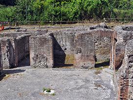 Visite guidate al Complesso termale di via Terracina