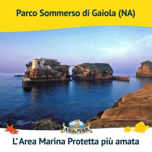"""Premiazione dell'Area Marina Protetta Parco Sommerso di Gaiola quale """"Area Marina Protetta più amata d'Italia"""", nell'ambito del concorso indetto da Asdomar e SEAC SUB."""