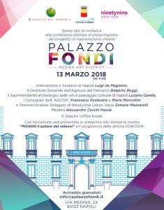 PALAZZO FONDI: Conferenza Stampa