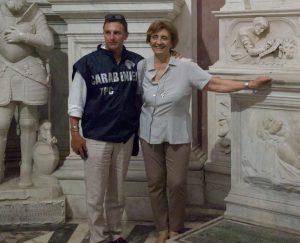 RICOLLOCATA NELLA CAPPELLA CARACCIOLO DI VICO, LA STATUA RUBATA DI SAN GIOVANNI