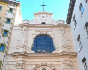 Terminato il restauro della facciata della chiesa di San Pietro Martire