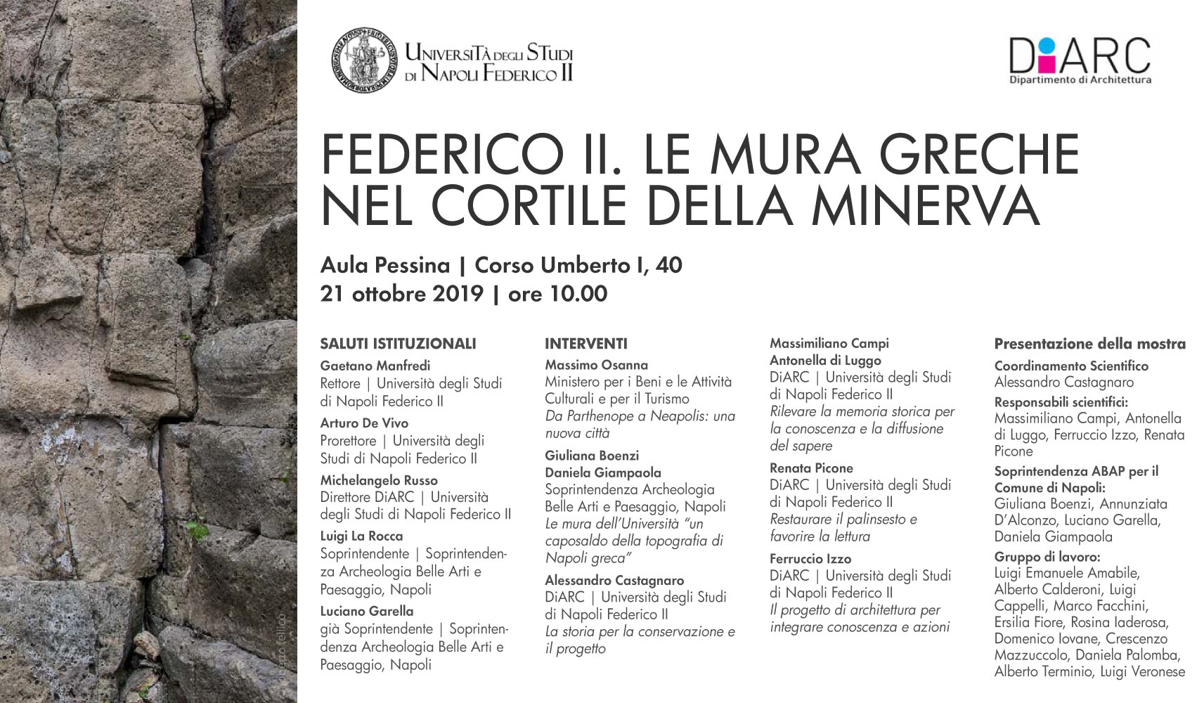 Lavoro Come Architetto Napoli convegno – soprintendenza archeologia belle arti e paesaggio