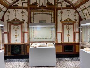 """Palazzo Reale-Sale Pompeiane dal 17 novembre al 20 febbraio: """"L'Età di Carlo, alle radici del gusto dell'antico""""."""