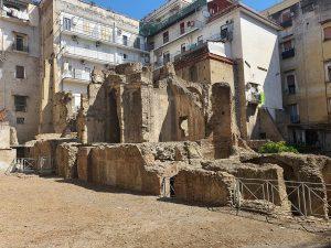 Intervento della Soprintendenza  di Napoli per la riqualificazione delle aree archeologiche nel centro antico di Napoli