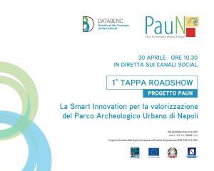 La Smart Innovation per la valorizzazione del Parco Archeologico Urbano di Napoli – Roadshow digitale