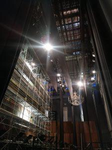"""Continua """"l'operazione Mancinelli"""" per il restauro del sipario del Teatro di San Carlo"""